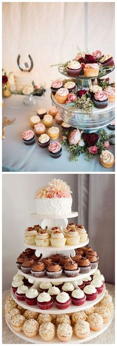 rustic wedding cupcake ideas #weddings #cakes #fall #cupcakes #weddingcakes