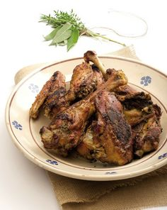 Pollo arrosto alle erbe aromatiche