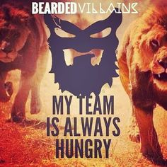 Enough said...... We are @beardedvillains and we represent a brotherhood!!! To…
