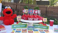 Purposeful Homemaking: Elmo Birthday Party