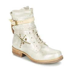 Airstep / A.S.98 SAINT Argent - Livraison Gratuite avec Spartoo.com ! - Chaussures Boots Femme 249,00 €