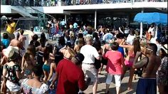 Carnival Conquest Cupid Shuffle and Wobble Dance