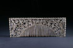 Burmese silver comb (2)