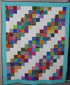 Lightening flashes quilt #quilt  http://www.seasidepiecemakers.com/community_service/patterns/lightening_flashes.htm