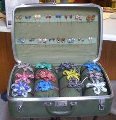 Love This!! will be doing this with my hair clips and headbands