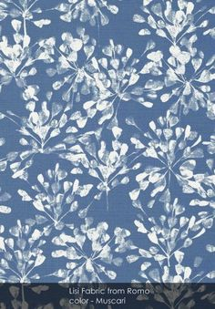 Lisi Fabric from Romo - Patternsnap loves... Oscar de la Renta's legacy.