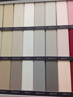 Farrow & Ball colours Farrow And Ball Paint, Farrow Ball, Paint Charts, Painted Cupboards, Fabric Wallpaper, Fabric Painting, Mood Boards, Paint Colors, Living Spaces