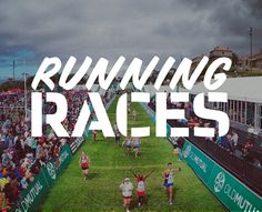 Running races in South Africa