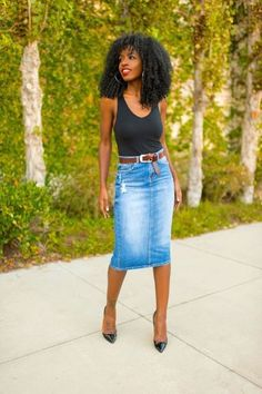 large_Fustany-Fashion-Style_Ideas-Different_Ways_to_Wear_a_Denim_Pencil_Skirt-12.jpg (640×960)