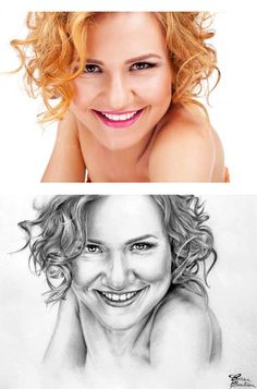 Desen după Imagine 17 - Desen în Creion de Corina Olosutean // Drawing from Picture 17 - Pencil Drawing by Corina Olosutean