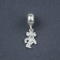 Wisconsin Silver Charm Bead Wisconsin Pandora bead