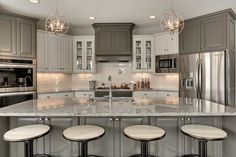 popular transitional kitchen lighting - Google Search