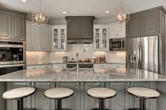 popular transitional kitchen lighting - Google Search