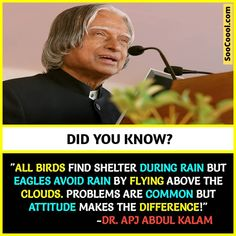 20 Cool Facts ( to Enhance your Knowledge and Make you Smart - Soocoool Apj Quotes, Motivational Picture Quotes, Wisdom Quotes, Words Quotes, Inspirational Quotes, Sayings, Life Lesson Quotes, Real Life Quotes, Reality Quotes