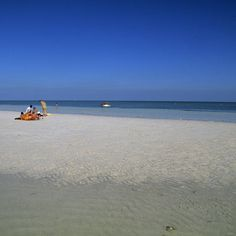 Despite all their fame, the Florida Keys are not known for their beaches—except for this slip of a state park. Just before Big Pine Key, pull over for a sublime beach with balmy breezes, coral reefs, and stunning sunsets. The gentle slope and bathwater-te