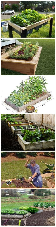 15 Beautiful DIY Raised Garden Bed Projects
