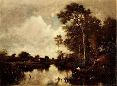 The River - Jules Dupre