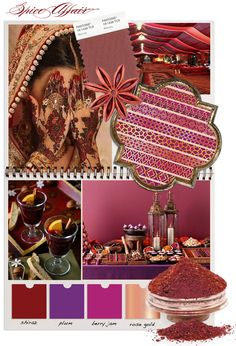 In response to Pantones choice of marsala as their colour of the year for we've created - Spice Affair. Inspired by the richness of mulled wine, exotic spices and far off lands.