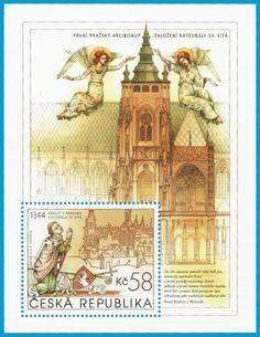 Neue Tschechische #Briefmarkenausgaben sind nun online unter: http://sammler.com/bm/tschechien-neuausgaben.htm