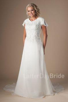 lds wedding dresses,