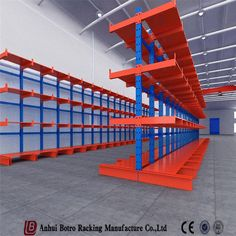 Steel Storage Rack, Steel Racks, Storage Shelves, Cantilever Racks, China Storage, Rack Shelf, Warehouse, Color Blue, Home Decor