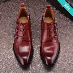 Risultati immagini per men elegant shoes  buckles three