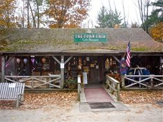 Parker's Maple Barn restaurant Gift Shop, Mason NH: http://visitingnewengland.com/parkers.html