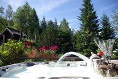 Summer flower walks in Chamonix ski resort