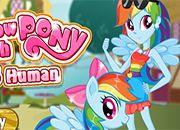 Rainbow Dash Vs Pony Human