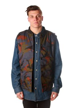we re crushing on this #crooksandcatles reversible vest! goes from camo to khaki depending on your mood! get the look today! https://www.freshlylanded.com/streetwear/brand/Crooks-and-Castles