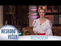 Vlasta Mudríková v Neskoro Večer, 2016 - YouTube Youtube, Youtubers, Youtube Movies