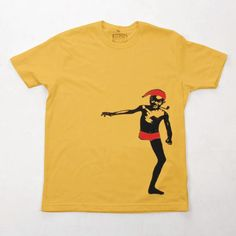 Camiseta Saci Xilogravura - R$60.00