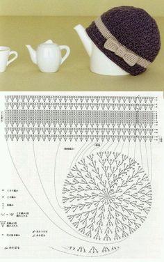 Richiesti da Egidia , ecco alcuni schemi di cappellini e baschi all'uncinetto...