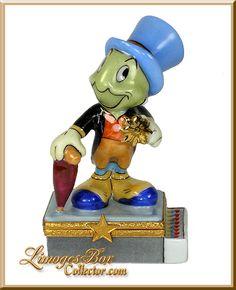 Pinocchio's Jiminy Cricket Disney Limoges Box (Artoria)
