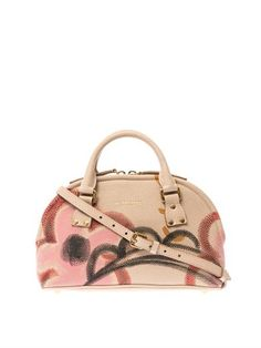 Bloomsbury small leather shoulder bag | Burberry Prorsum