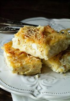 Cookbook Recipes, Pasta Recipes, Cooking Recipes, Greek Cooking, Greek Recipes, Lasagna, Cauliflower, Macaroni And Cheese, Oven