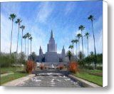 awesome Oakland Temple No. 1 Canvas Print / Canvas Art - Artist Geoffrey C Lewis / http://www.mormonlaughs.com/oakland-temple-no-1-canvas-print-canvas-art-artist-geoffrey-c-lewis/