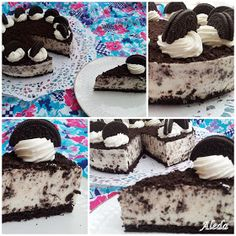 Aleda konyhája: Oreo torta Cake Roll Recipes, Oreo Cake, Food Cakes, Rolls Recipe, Breakfast Recipes, Deserts, Sweets, Snacks, Cookies