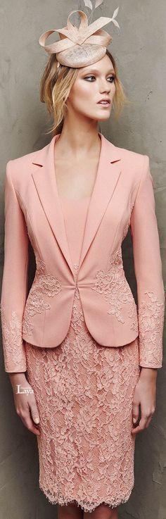 Pronovias 2016 Cocktail Dresses coral @roressclothes closet ideas women fashion outfit clothing style