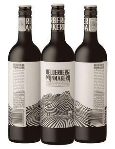 Wine label design from the amazing team at Fanakolo... http://www.fanakalo.co.za