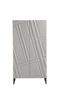 Astragale   wardrobe By roche bobois, lacquered mdf wardrobe design Bina Baitel, astragale Collection