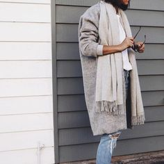Winter neutral colors.