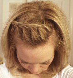 The Half French Braid I have failed to figure out up until now.  She does a nice simple tutorial here, so maybe there's hope for me yet  :)