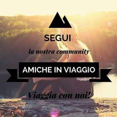 Segui @amicheinviaggio per entrare a far parte della community italiana di donne viaggiatrici! Troverai ispirazioni per le tue prossime destinazioni e tante amiche con cui condividere consigli esperienze e i ricordi di viaggio più belli!  ---------------------- #viaggi #donne #amiche #vacanze #italia #community #viaggiatrici #viaggiare #viaggio #viaggiatrice #amicizia #avventura #mondo #italy #donneitaliane #turismoitalia #igersitalia #travel #travelblogger #wanderlust #turismo #trip…