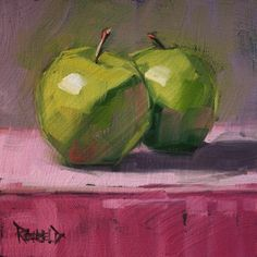 Pink and Green -- Cathleen Rehfeld. Love this!