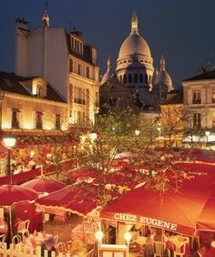Sacre Coeur and Place Du Tetre-so cool to say I was here!!