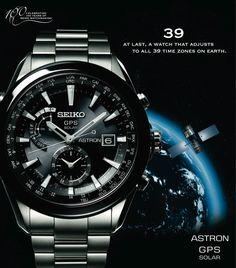 Catálogo de relojes Seiko: Reloj Seiko Astron GPS Solar