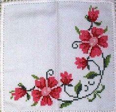 The most beautiful cross-stitch pattern - Knitting, Crochet Love Cross Stitch Letters, Cross Stitch Heart, Cross Stitch Borders, Cross Stitch Samplers, Cross Stitch Flowers, Modern Cross Stitch, Cross Stitch Designs, Cross Stitching, Cross Stitch Embroidery
