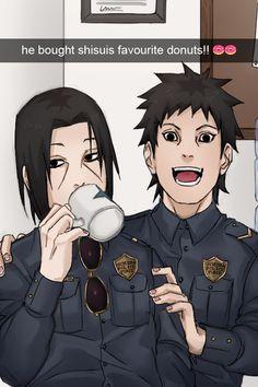 maddy daddy and obi tobi Madara Uchiha, Kakashi, Neji E Tenten, Naruto Shippuden Sasuke, Boruto, Sasunaru, Anime Naruto, Anime Akatsuki, Naruto Comic