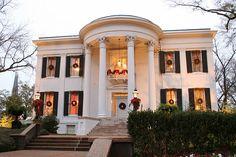 Mississippi Governor's Mansion in Jackson  #jacksonmississippi, #governorsmansion, #christmas